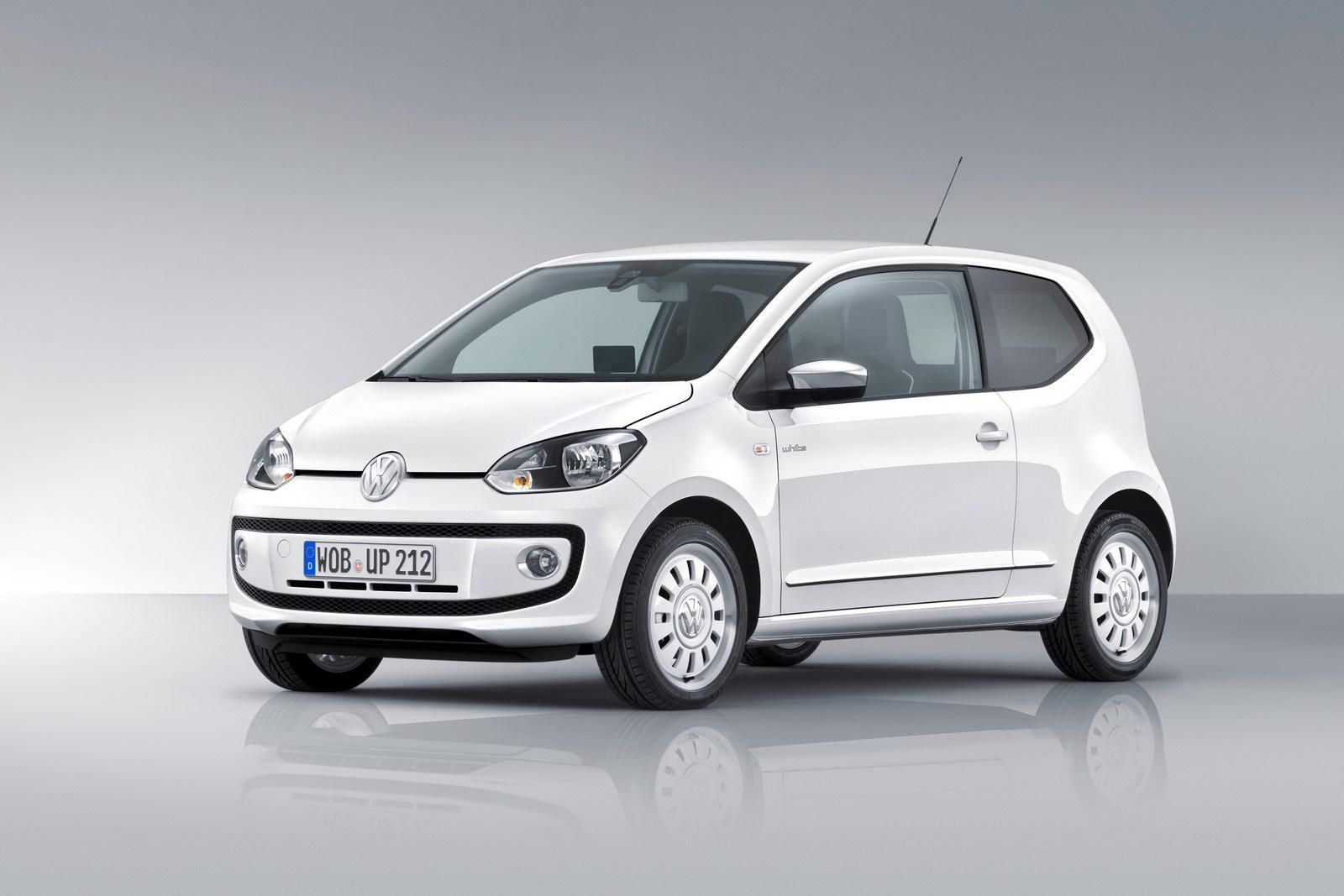 VW up wynajem samochodu z kierowca